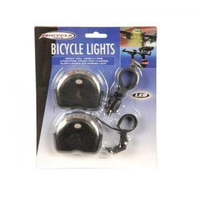 Svetlo predné + zadné LED