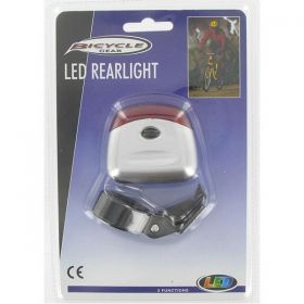 Svetlo na bicykel zadné LED