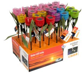 Solárna lampa Tulipán