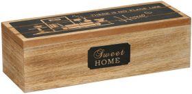 Dekoračný box 3sekcie - 24x9x7cm