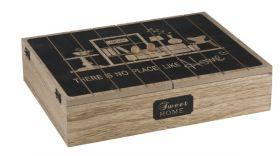 Dekoračný box 12 sekcií - 31x24x7cm