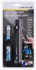 Lampáš 3W 1LED + batérie